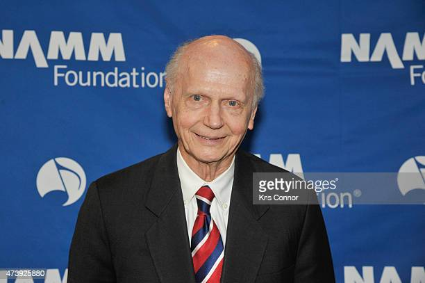 Former Secretary of Education Richard Wilson Riley attends a reception and dinner at Nelson Mullins as part of Namm's DC Flyin on May 18 2015 in...