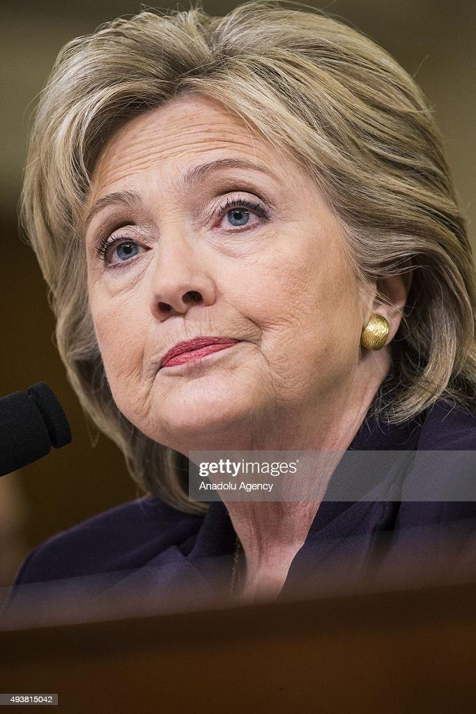 Secretary Clinton Testifies at Benghazi Hearing : News Photo