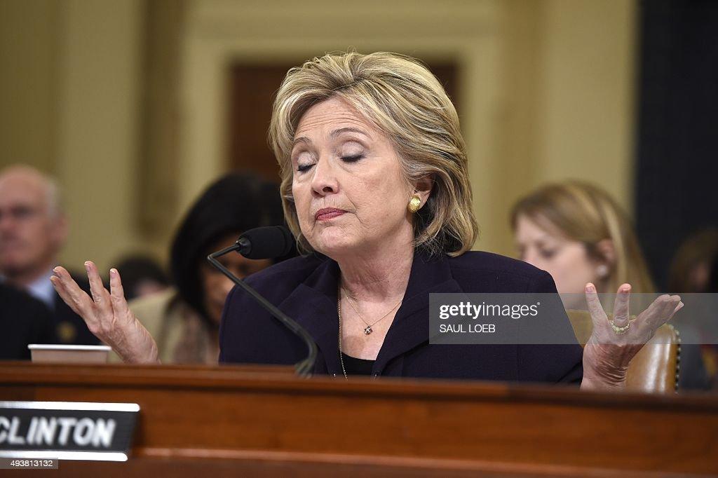 US-VOTE-CLINTON-LIBYA-ATTACKS-CONGRESS : News Photo