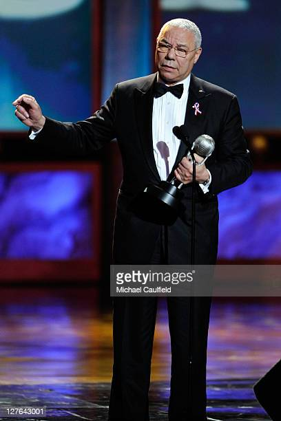 Former Secretary of State Colin Powell onstage at the 42nd NAACP Image Awards held at The Shrine Auditorium on March 4 2011 in Los Angeles California