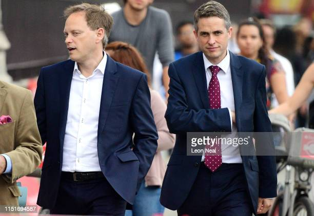 Former Secretary of State for Defence Gavin Williamson walks through Westminster on June 24 2019 in London United Kingdom