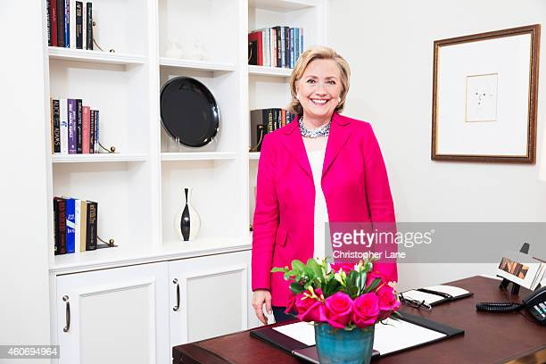 Former Secretary of State Hillary Clinton is photographed for Paris Match on June 10 2014 in New York City