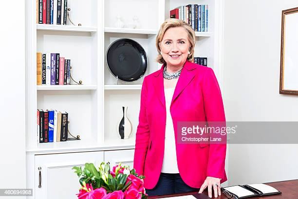 Former Secretary of State Hillary Clinton is photographed for Paris Match on June 10 2014 in New York City PUBLISHED IMAGE