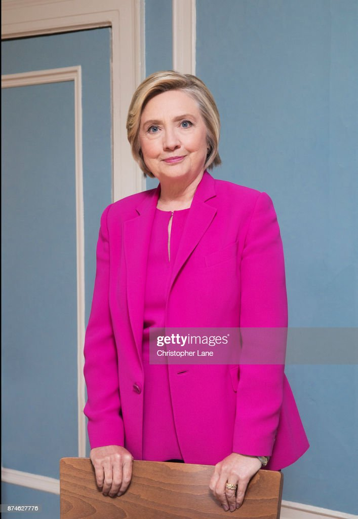 Former Secretary of State, Hillary Clinton is photographed for Paris Match on September 21, 2017 in Chappaqua, New York.