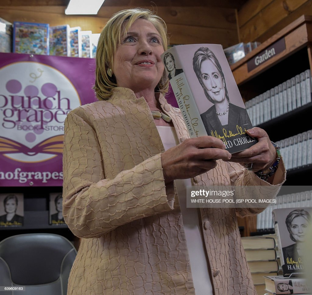 Hillary Clinton Latest News: Former Secretary Of State Hillary Rodham Clinton At A Book