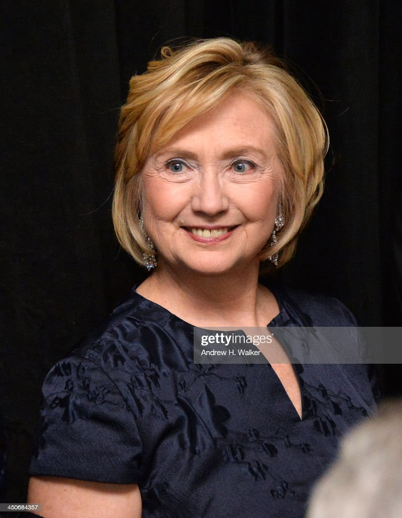 Former Secretary of State Hillary Rodham Clinton attends the Queen Sofia Spanish Institute 2013 Gold Medal Gala at The Waldorf=Astoria on November 19, 2013 in New York City.