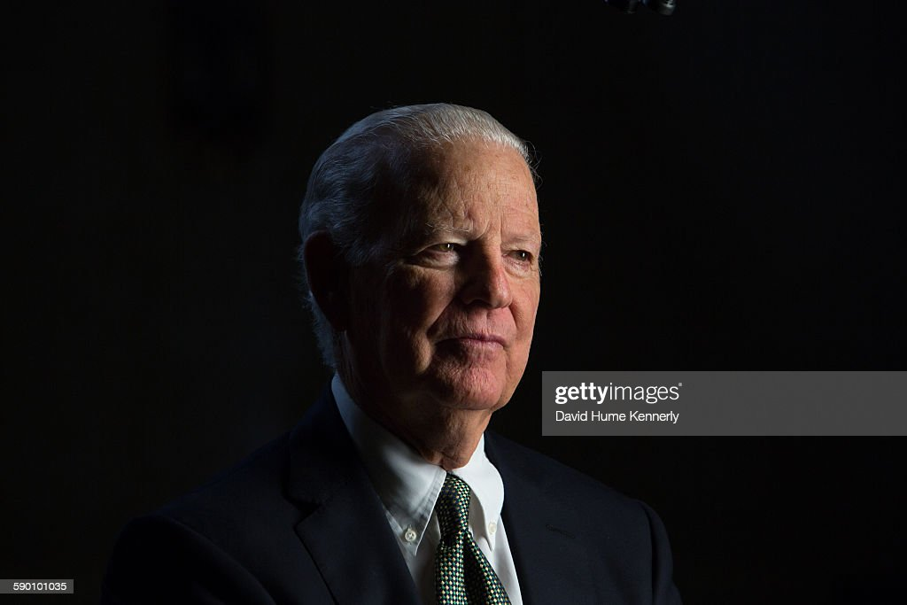 """James Baker Interviewed for """"The Presidents' Gatekeepers"""" : News Photo"""