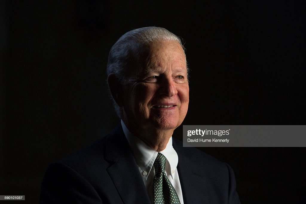 "James Baker Interviewed for ""The Presidents' Gatekeepers"" : News Photo"