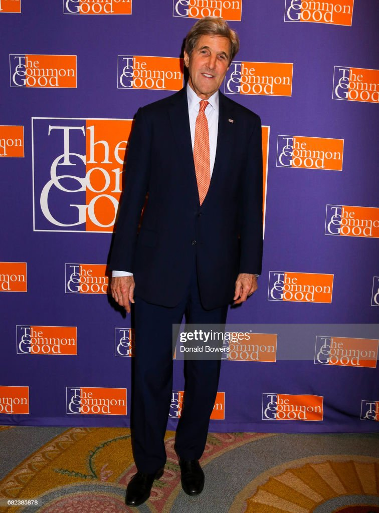 Former Secretary of State John Kerry attends The 2017 Common Good Forum at University Club on May 12, 2017 in New York City.