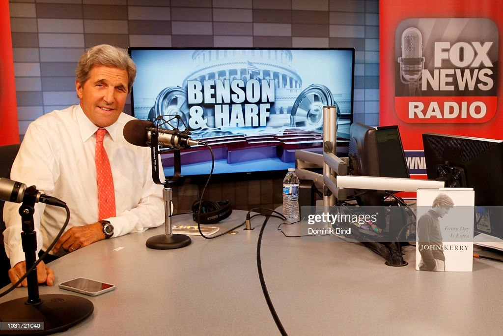 "Former Secretary Of State John Kerry Visits ""Benson & Harf"""