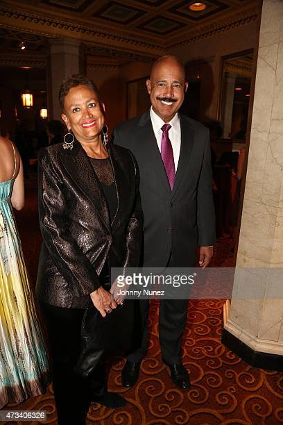 Former Secretary of State of New Jersey Nina Wells and attorney Ted Wells attend the 2015 Brotherhood/Sister Sol's Voices Benefit at Gotham Hall on...