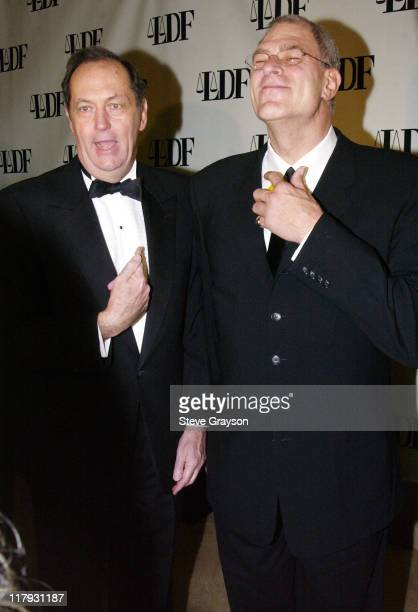 Former Senator Bill Bradley Phil Jackson during NAACP Legal Defense Fund's Hank Aaron Humanitarian Award in Sports at The Beverly Hilton Hotel in...