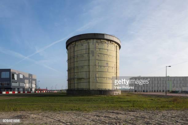 Former sewage treatment plant silo Zeeburgeiland Amsterdam Zelfbouw series extras Various Netherlands Architect various 2015