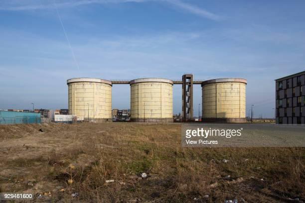 Former sewage treatment plant silos Zeeburgeiland Amsterdam Zelfbouw series extras Various Netherlands Architect various 2015