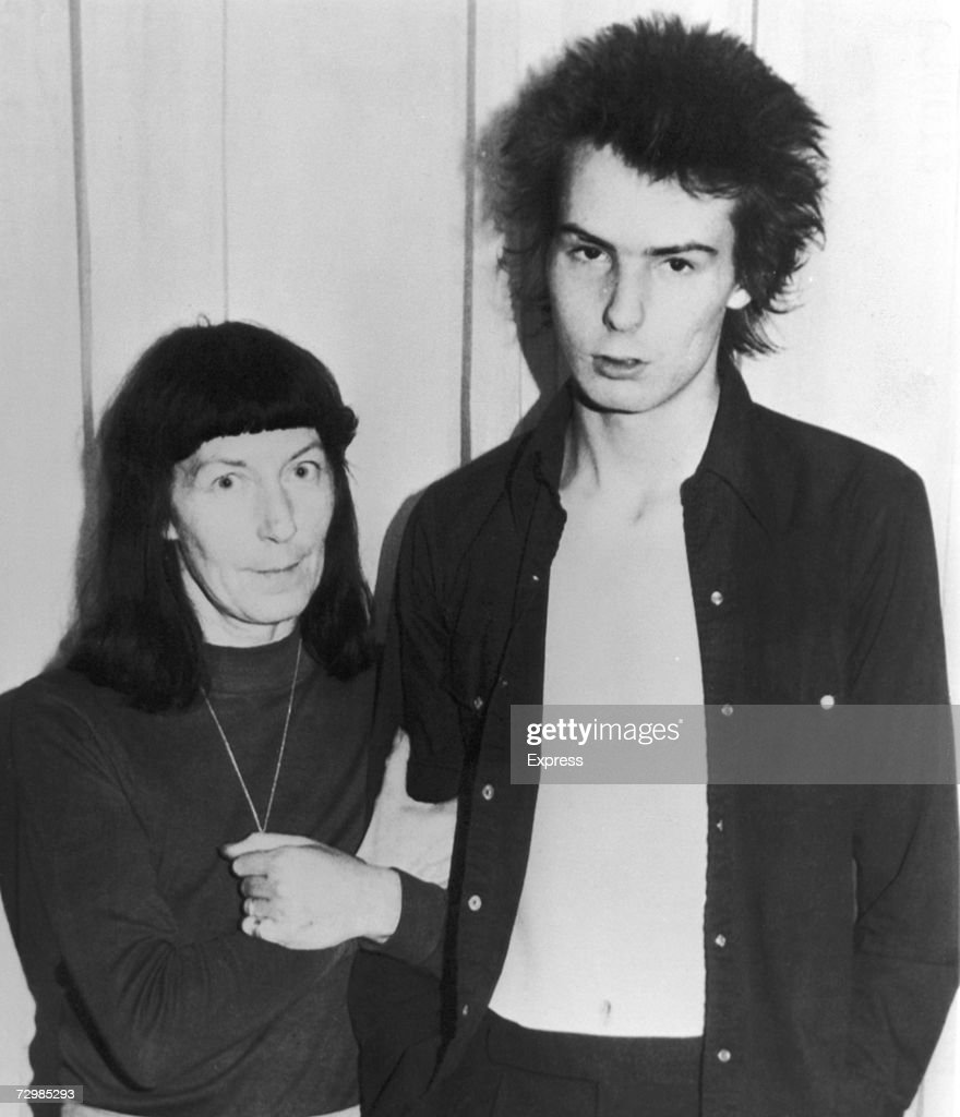 Sid Vicious And Mum : News Photo