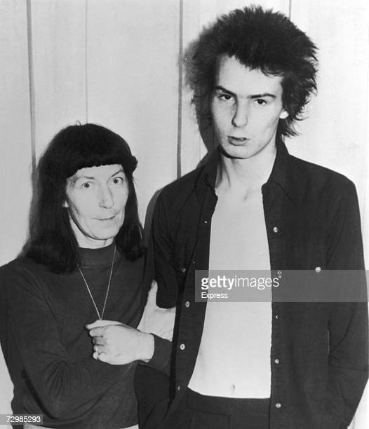 Former Sex Pistols bassist Sid Vicious with his mother Anne Beverley after a court appearance over the murder of his girlfriend Nancy Spungen 18th...