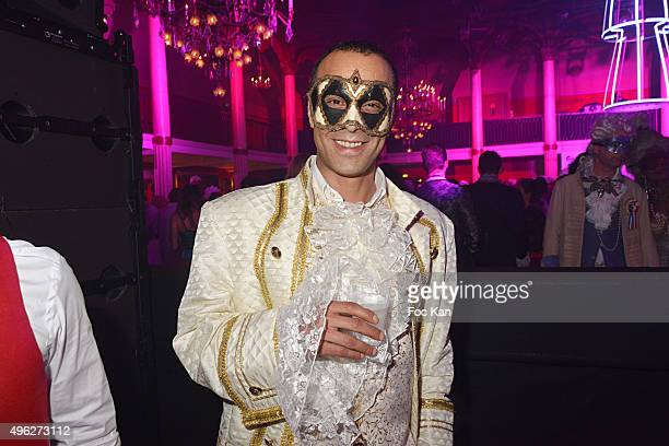 Former singer Adel Kachermi from 2Be3 band attends 'Le Bal des Princesses 2015' at Salle Wagram on November 7 2015 in Paris France