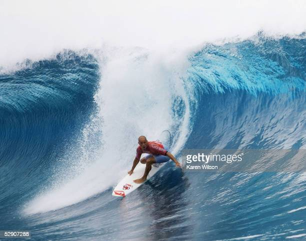 Former six times ASP world champion Kelly Slater makes surfing history scoring perfect points to clinch the Billabong Pro Tahiti title before the 30...