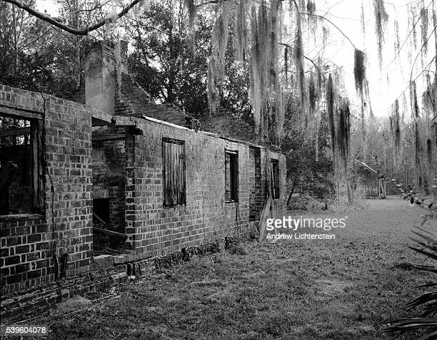 A former slave cabin sits on the edge of the Combahee River in South Carolina's rice plantation country The fugitive slave Harriet Tubman returned t...