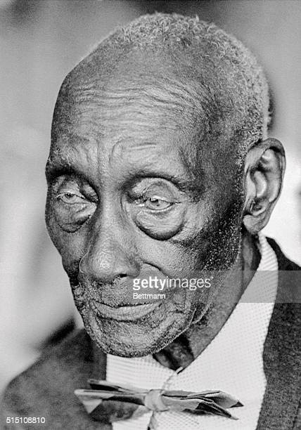 Former slave Charlie Smith, shown here in a photo taken last month on Father's Day, celebrates his 131st birthday on July 4, 1973. Smith was born in...