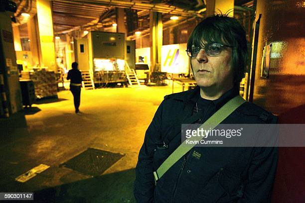 Former Smiths bassist Andy Rourke at the Manchester Evening News Arena for the Versus Cancer charity concert Manchester 30th March 2007