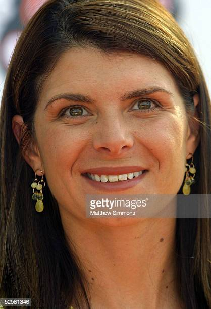 Former soccer athlete Mia Hamm arrives at the 18th Annual Kids Choice Awards at UCLA's Pauley Pavillion on April 2 2005 in Westwood California