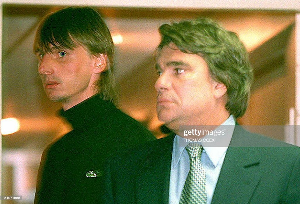 Former soccer captain Jacques Glassmann (L) of Val : News Photo