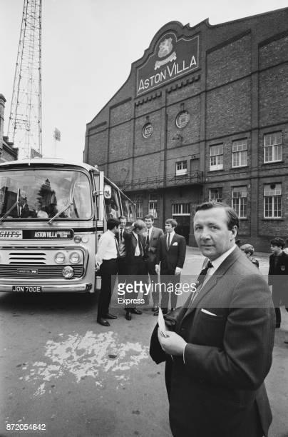 Former soccer player and manager of Aston Villa FC Tommy Cummings outside Villa Park Stadium Birmingham UK 19th August 1967