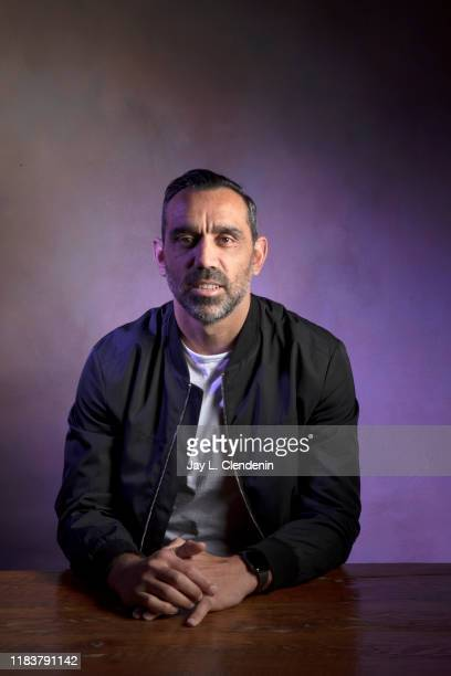 Former soccer player and subject, Adam Goodes from 'The Australian Dream' is photographed for Los Angeles Times on September 8, 2019 at the Toronto...