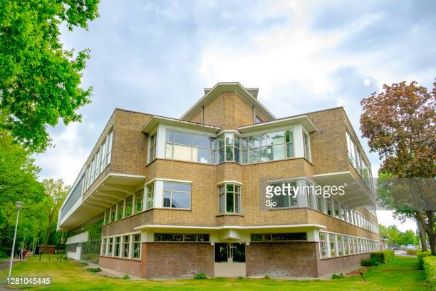 """former sophia hospital now artez university of the arts in zwolle - """"sjoerd van der wal"""" or """"sjo"""" stock pictures, royalty-free photos & images"""