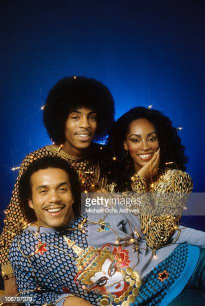 Former Soul Train dancers and R B group Shalamar pose for a portrait on September 24 1981 in Los Angeles California