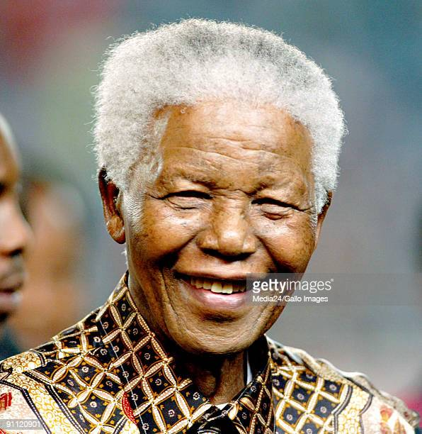 Former South African president and world icon Nelson Mandela