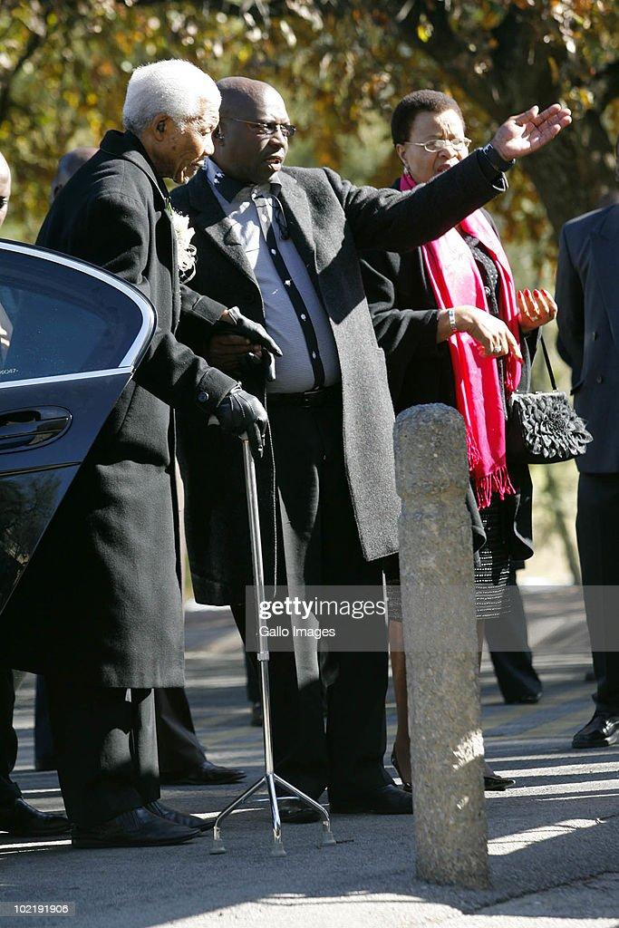 Nelson mandela granddaughter funeral