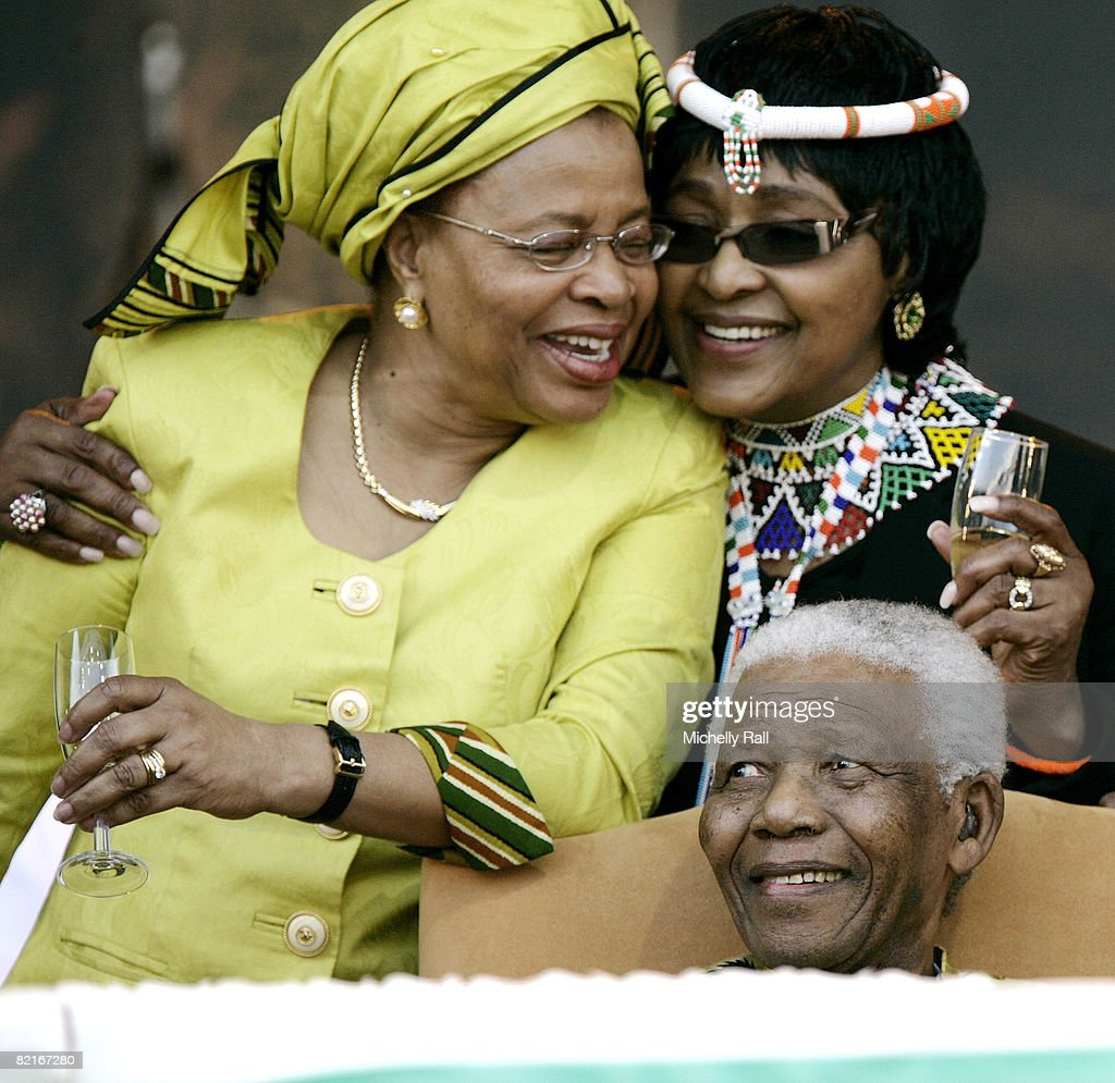 ANC Celebrates Nelson Mandela's Birthday : News Photo