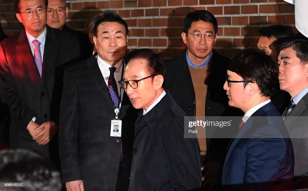 Former South Korean President Lee Myung-Bak Arrested on Corruption Allegations