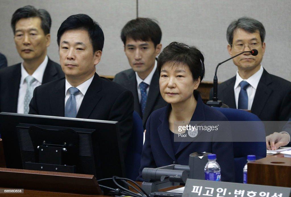 Former President Park Geun-hye Makes First Court Appearance