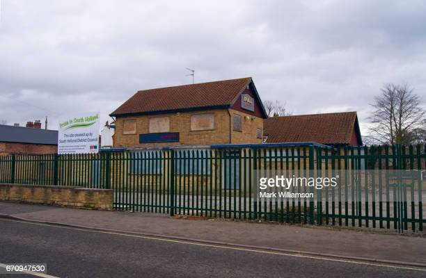 former spalding pub. - spalding england stock photos and pictures
