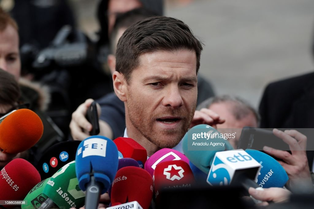 Xabi Alonso in court for tax evasion charge : News Photo