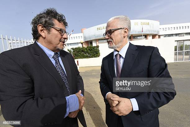 Former Spanish Judge Baltasar Garzon speaks with Reed Brody, counsel at Human Rights Watch who has worked with the victims of ex-Chadian dictator...