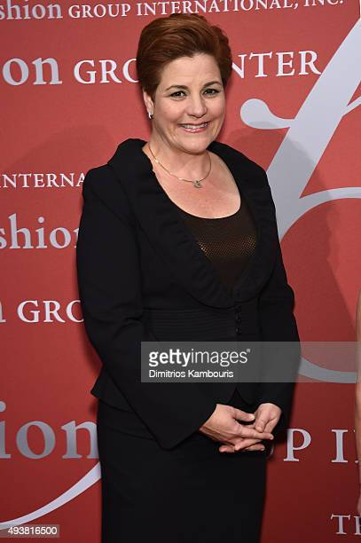 Former Speaker of the New York City Council Christine Quinn attends the 2015 Fashion Group International Night Of Stars Gala at Cipriani Wall Street...