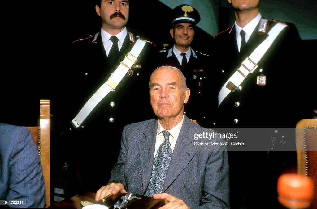 SS Captain Erich Priebke : News Photo