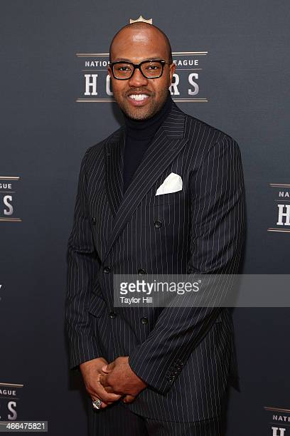 Former St Louis Rams wide receiver Torry Holt attends the 3rd Annual NFL Honors at Radio City Music Hall on February 1 2014 in New York City
