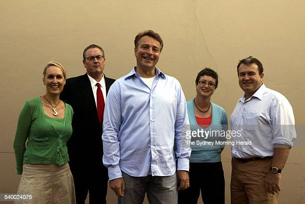 Former staff members of NSW Former staff members of NSW Premier Bob Carr from left Vivienne Skinner Walt Secord Graeme Wedderburn Amanda Lampe and...