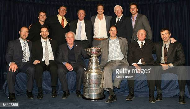 Former Stanley Cup winners; Martin St. Louis, Serge Savard, Guy Lafleur, Vincent Lecavalier, Jean Beliveau, Mike Modano J.S. Giguere, Dan Boyle,...