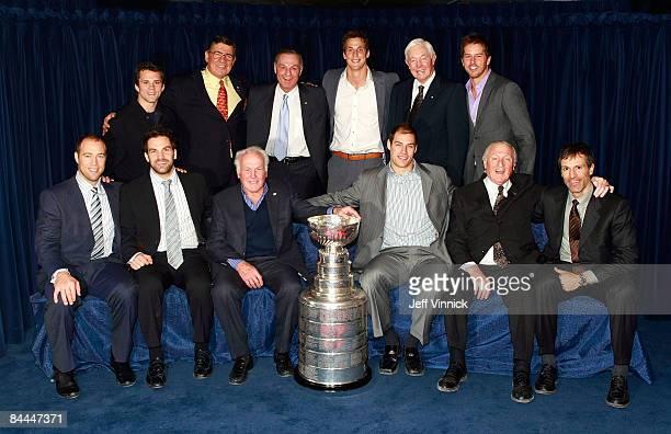 Former Stanley Cup winners Martin St Louis Serge Savard Guy Lafleur Vincent Lecavalier Jean Beliveau Mike Modano JeanSebastien Giguere Dan Boyle...