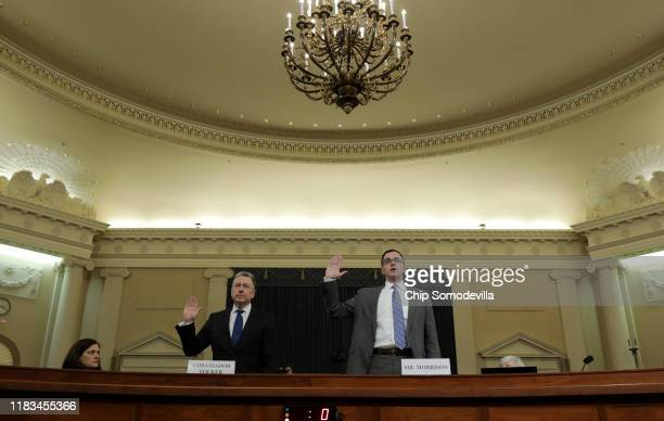 Former State Department special envoy to Ukraine Kurt Volker and former National Security Council Senior Director for European and Russian Affairs...