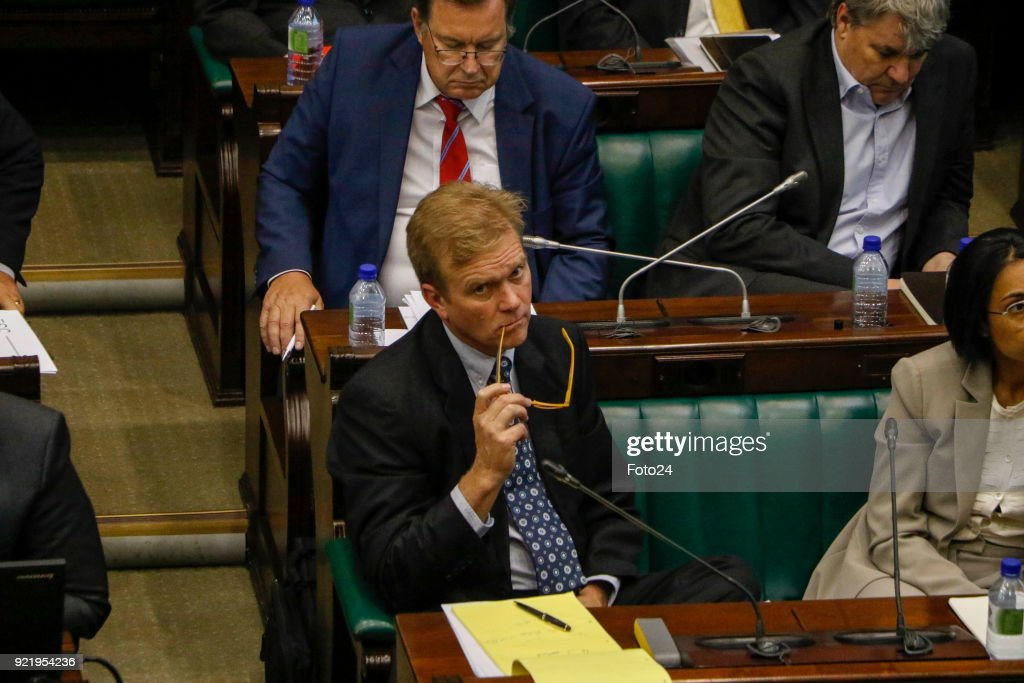 Christopher Wiese and Steinhoff executives appear in Parliament in South Africa : News Photo