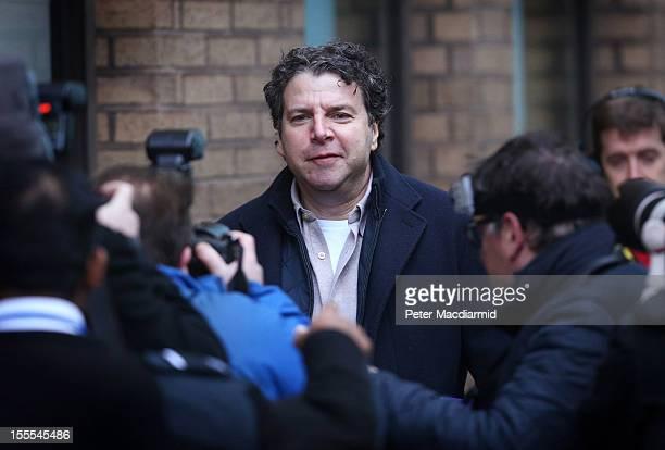 Former Stockbroker Nicholas Levene arrives for sentencing at Southwark Crown Court on November 5 2012 in London England Mr Levene will be sentenced...