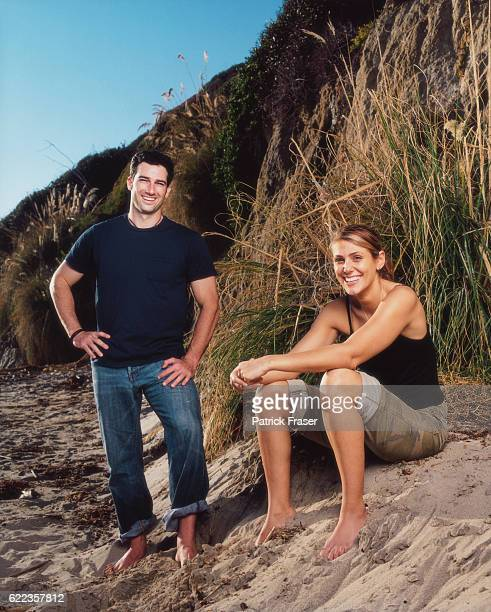 Former Survivor contestants Burton Roberts and Jenna Lewis partnered to form the adventure travel company Reality Trips