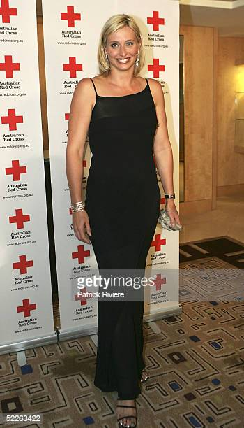 Former swimmer and tv personality Johanna Griggs attends the Australian Red Cross 90th Anniversary Gala at the Westin Hotel March 2 2005 in Sydney...